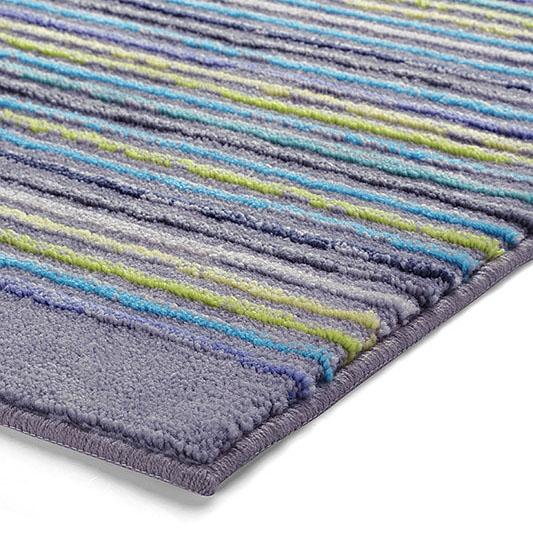 tapis de bain gris cool stripes esprit home 70x120. Black Bedroom Furniture Sets. Home Design Ideas