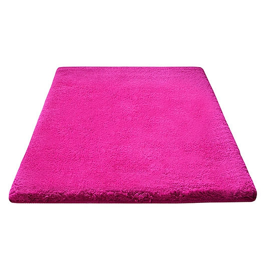 Tapis de bain event rose esprit home - Tapis salle de bain rose ...