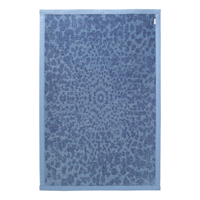 tapis de bain caldera esprit home bleu 80x120. Black Bedroom Furniture Sets. Home Design Ideas
