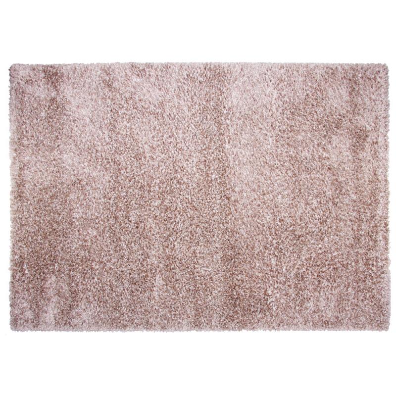 tapis shaggy fait main chocolat brooklyn 160x230. Black Bedroom Furniture Sets. Home Design Ideas
