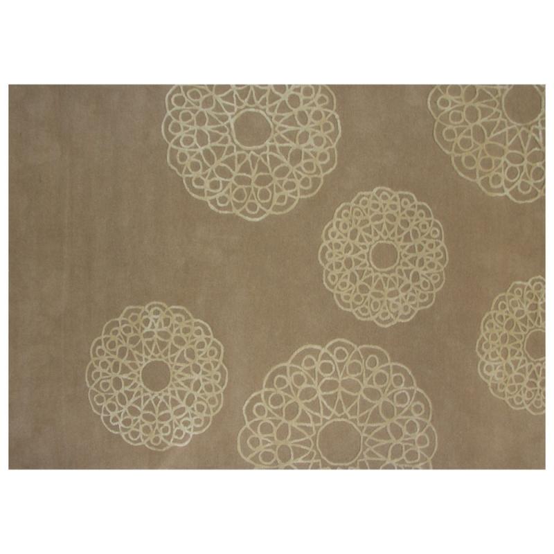 tapis en laine florence beige 160x230. Black Bedroom Furniture Sets. Home Design Ideas
