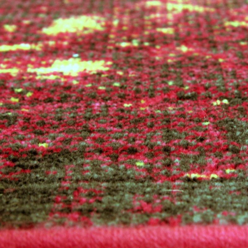 Tapis en laine vintage hacoon multicolore 160x230 - Tapis laine multicolore ...