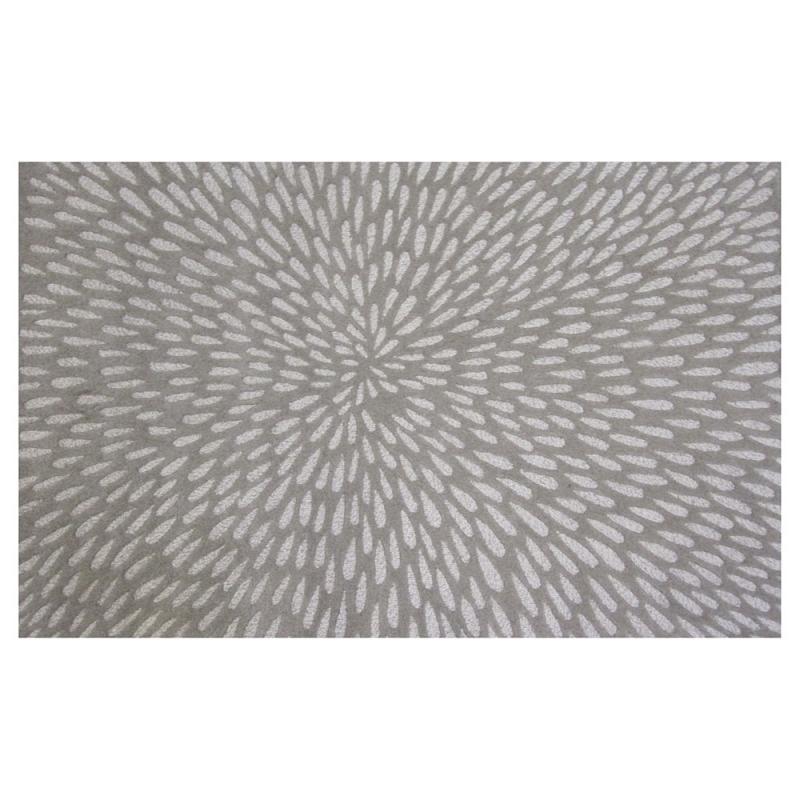 tapis en laine illusion beige 160x230. Black Bedroom Furniture Sets. Home Design Ideas