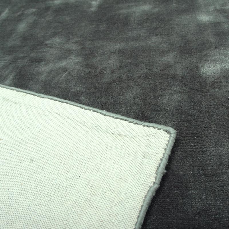 tapis en soie madurai gris anthracite 160x230. Black Bedroom Furniture Sets. Home Design Ideas
