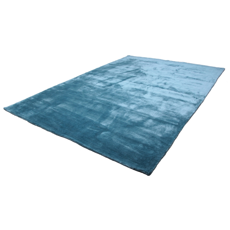 tapis en soie madurai bleu turquoise 160x230. Black Bedroom Furniture Sets. Home Design Ideas