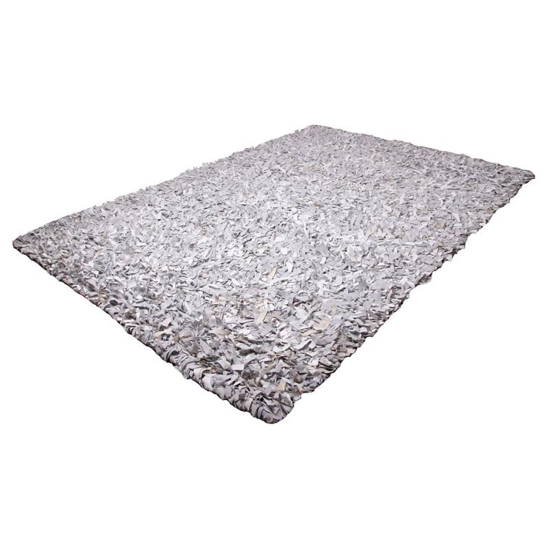 tapis shaggy noir et blanc maison design. Black Bedroom Furniture Sets. Home Design Ideas