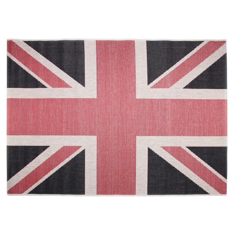 tapis design union jack multicolore 120x170. Black Bedroom Furniture Sets. Home Design Ideas
