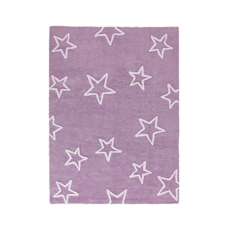 tapis enfant estrellas violet lorena canals 120x160. Black Bedroom Furniture Sets. Home Design Ideas