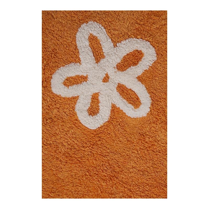 tapis enfant flores orange lorena canals. Black Bedroom Furniture Sets. Home Design Ideas
