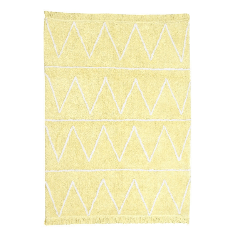 tapis enfant hippy soft jaune lorena canals 120x160. Black Bedroom Furniture Sets. Home Design Ideas