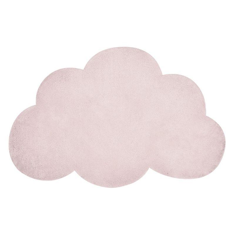 Tapis Enfant Nuage Pearl Rose Pale Lilipinso