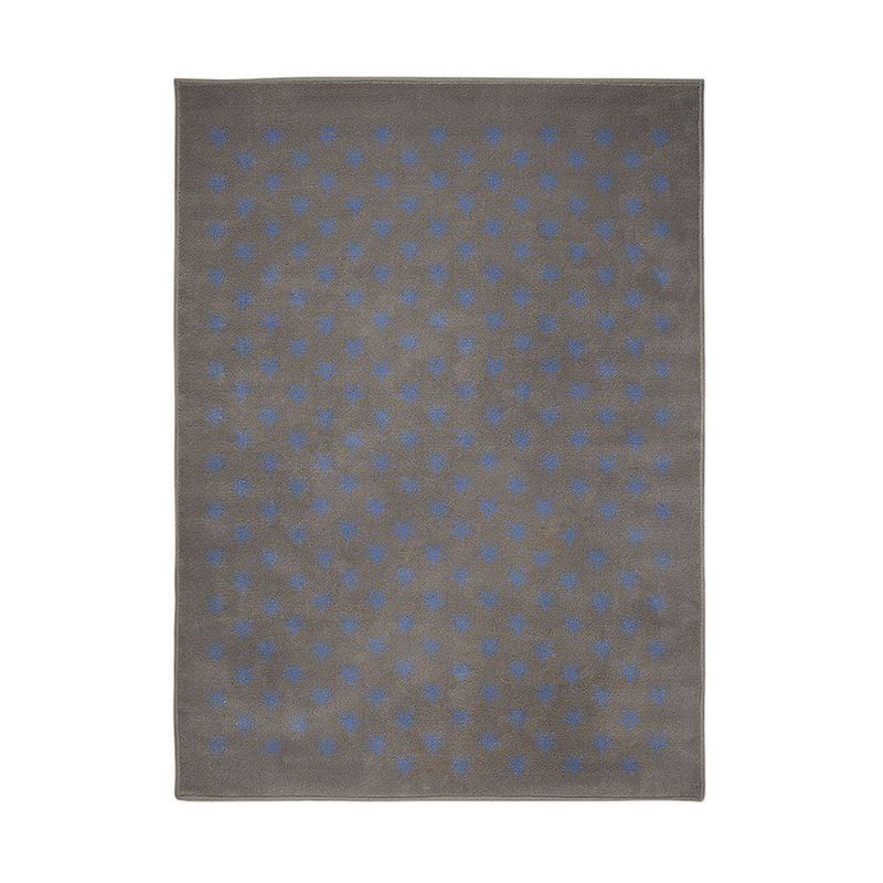 tapis enfant gris et bleu lorena canals estrellitas 140x200. Black Bedroom Furniture Sets. Home Design Ideas