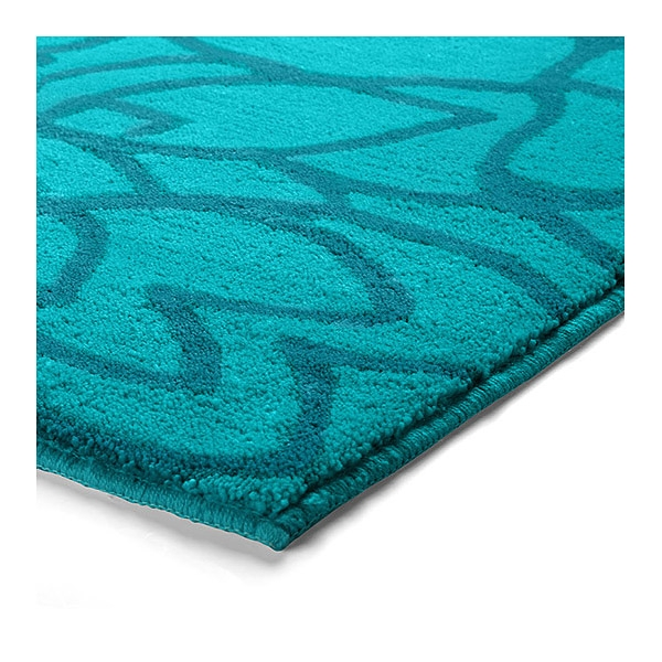 tapis de bain flower shower turquoise esprit home 55x65. Black Bedroom Furniture Sets. Home Design Ideas