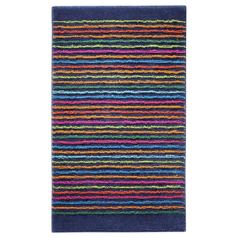 tapis de bain cool stripes bleu esprit home. Black Bedroom Furniture Sets. Home Design Ideas