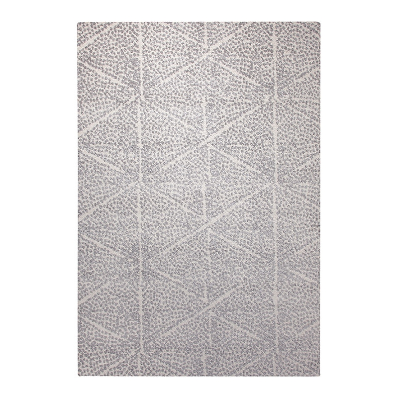 tapis madison esprit home blanc et gris 120x170. Black Bedroom Furniture Sets. Home Design Ideas