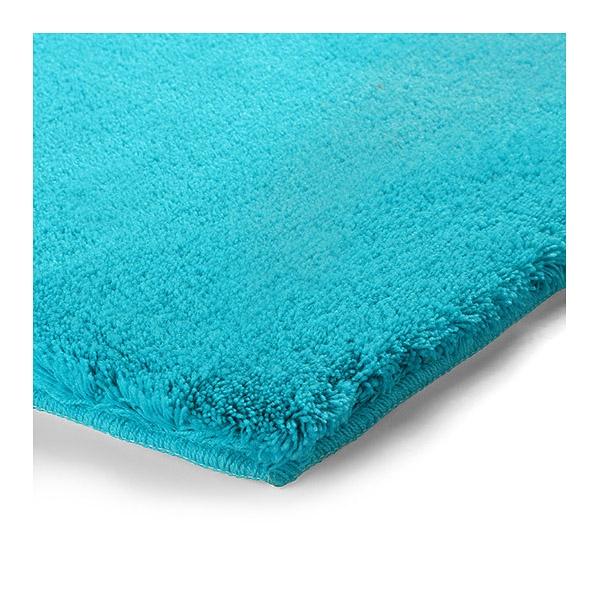 Tapis de bain event bleu turquoise esprit home 55x65 - Tapis turquoise enfant ...