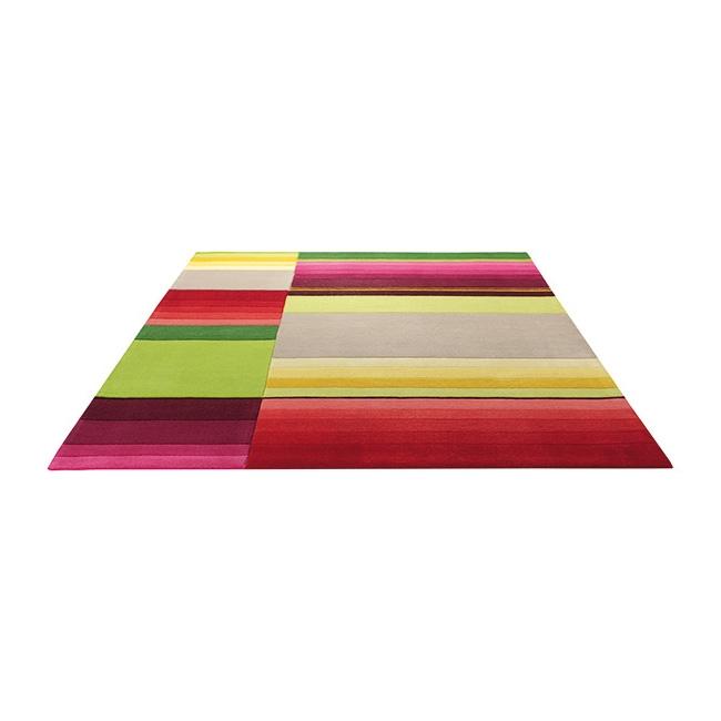tapis multicolore esprit home block pattern 120x180. Black Bedroom Furniture Sets. Home Design Ideas