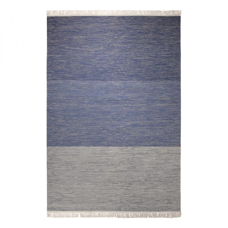 tapis esprit home casual bleu 130x190