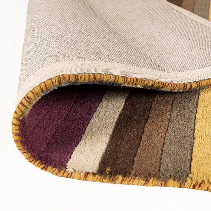 Tapis Moderne Laine Multicolore Poplar Flair Rugs