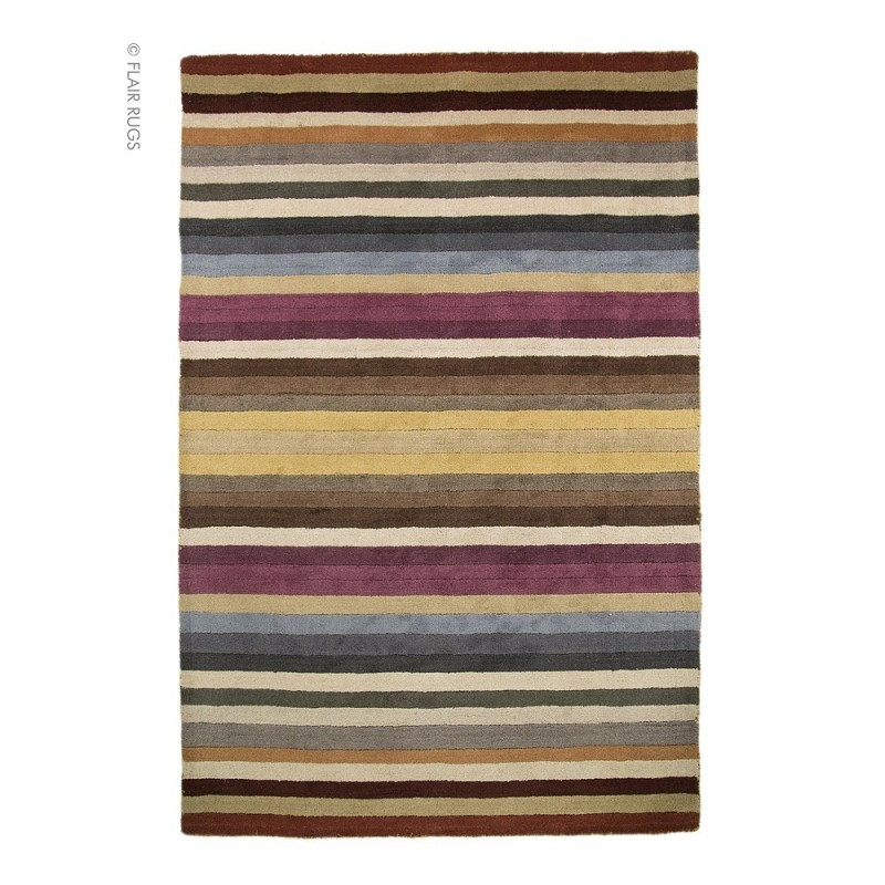 tapis moderne laine multicolore poplar flair rugs. Black Bedroom Furniture Sets. Home Design Ideas