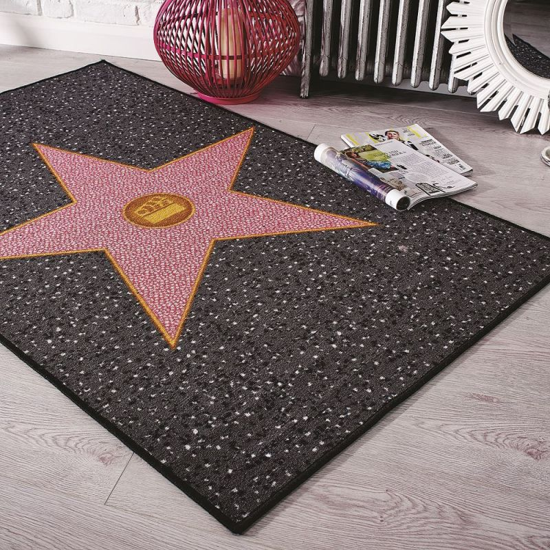 Tapis toile Hollywood Star Flair Rugs 100x160