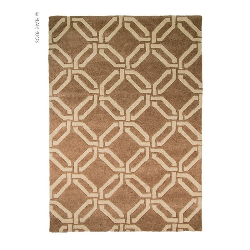 tapis laine fait main beige meknes flair rugs. Black Bedroom Furniture Sets. Home Design Ideas