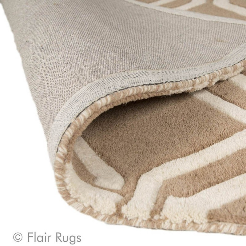 tapis laine beige fait main meknes flair rugs 120x170. Black Bedroom Furniture Sets. Home Design Ideas