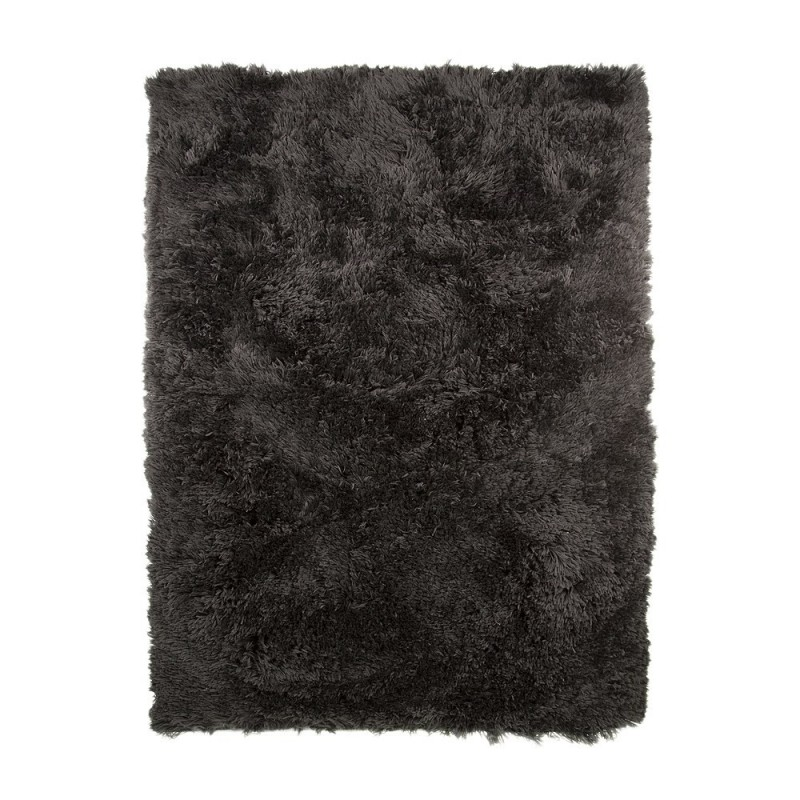 tapis shaggy tuft noir sumptuous flair rugs 120x170. Black Bedroom Furniture Sets. Home Design Ideas