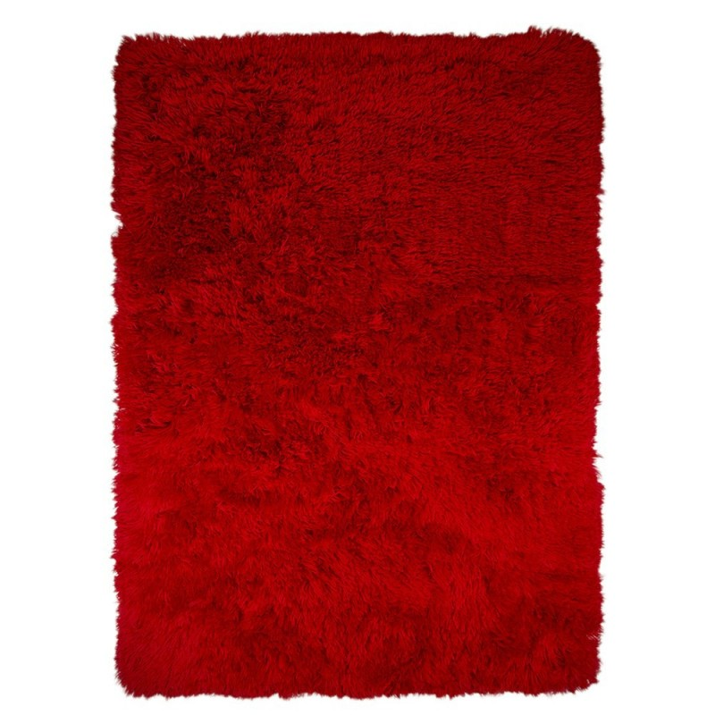 tapis shaggy tuft rouge sumptuous flair rugs 120x170. Black Bedroom Furniture Sets. Home Design Ideas