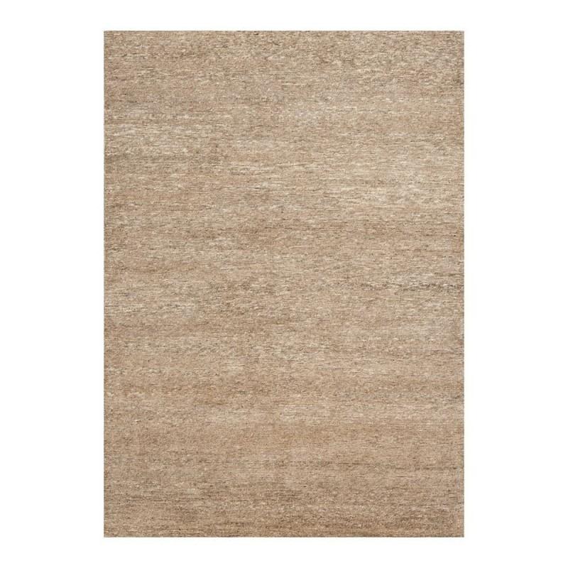 tapis transform ligne pure laine nou main beige uni 170x240. Black Bedroom Furniture Sets. Home Design Ideas