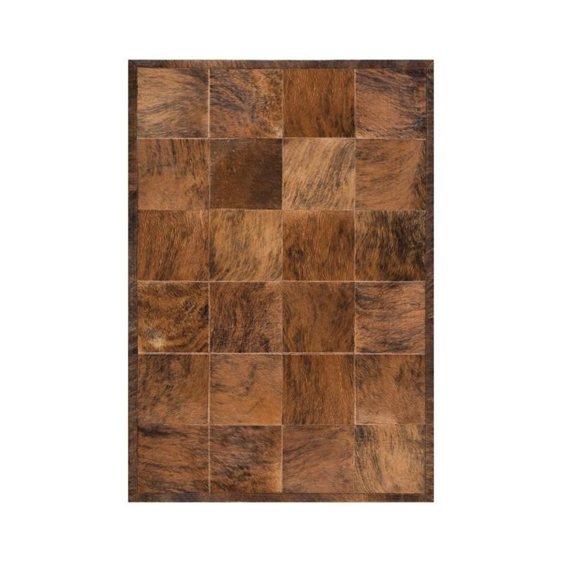 tapis peau de vache marron feel ligne pure 205x285. Black Bedroom Furniture Sets. Home Design Ideas