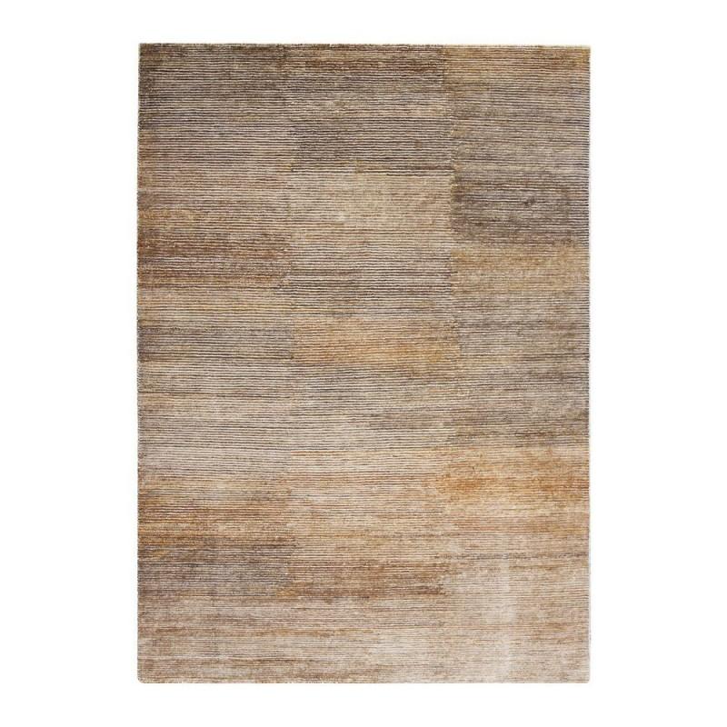 Tapis laine indo n palaise beige transform ligne pure 140x200 - Tapis classique laine ...