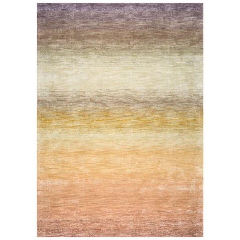 Tapis Laine Tiss Main Multicolore Reflect Ligne Pure 140x200