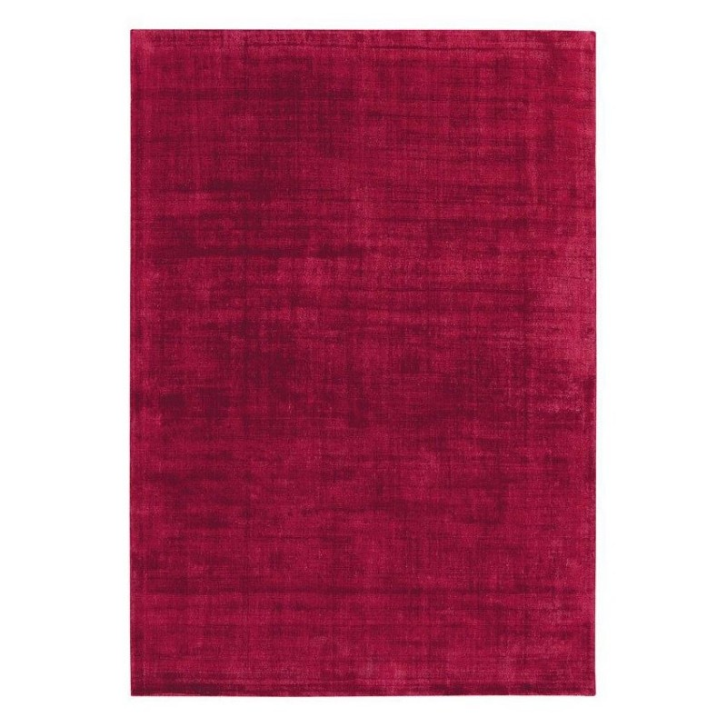 tapis ligne pure viscose tiss main bordeaux reflect 200x300. Black Bedroom Furniture Sets. Home Design Ideas
