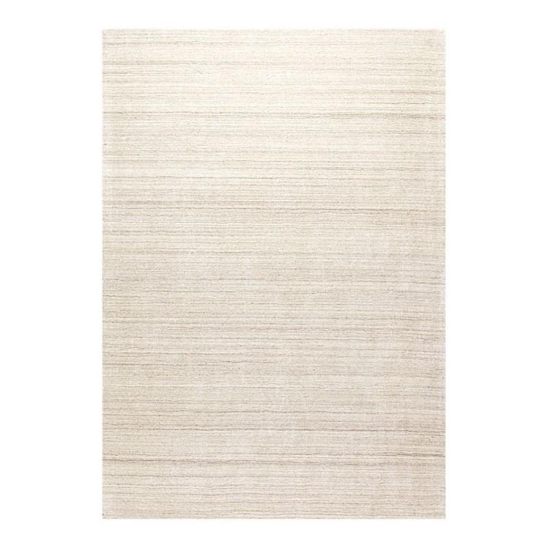 tapis viscose naturelle tiss main beige transform ligne pure 170x240. Black Bedroom Furniture Sets. Home Design Ideas