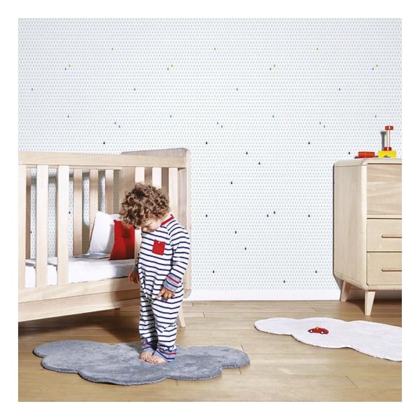 tapis enfant coton nuage gris anthracite lilipinso. Black Bedroom Furniture Sets. Home Design Ideas