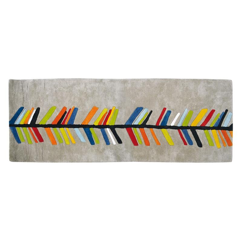 tapis enfant coton arrow lilipinso 70x200. Black Bedroom Furniture Sets. Home Design Ideas