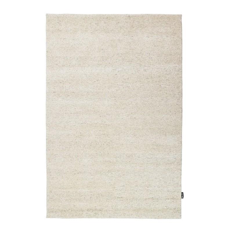 Tapis uni en laine nou main ivoire 418 loook 250x300 - Tapis laine classique ...