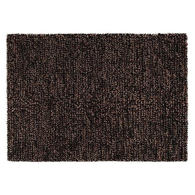 tapis en laine casa marron. Black Bedroom Furniture Sets. Home Design Ideas