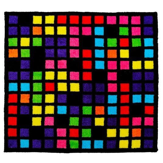 tapis enfant tetris multicolore. Black Bedroom Furniture Sets. Home Design Ideas