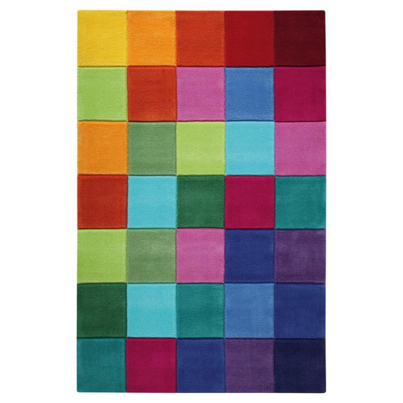 Tapis Multicolore Smart Kids Enfant Tuft 233 Main Smart
