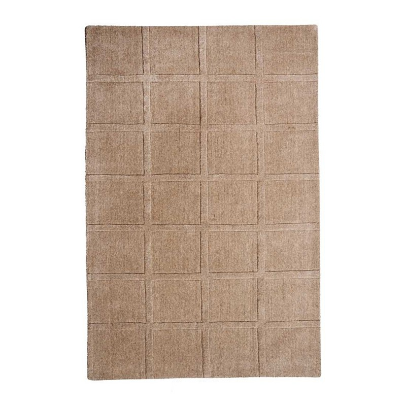 tapis tiss main blokker beige the rug republic 160x230. Black Bedroom Furniture Sets. Home Design Ideas