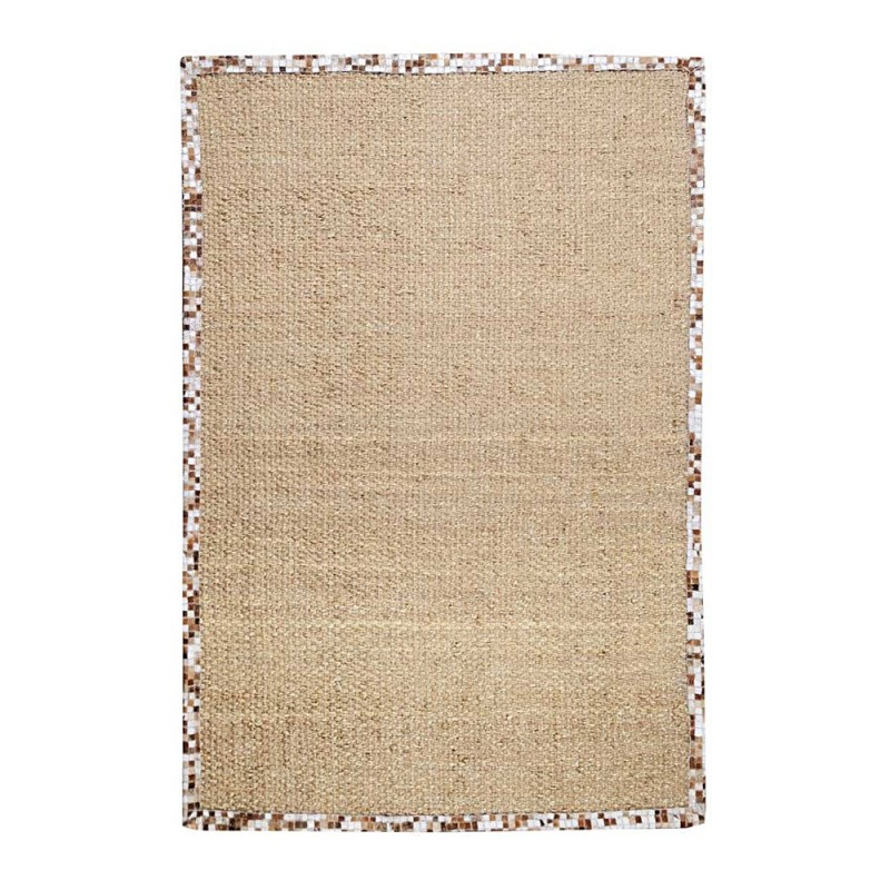 tapis tiss main brazilia beige the rug republic. Black Bedroom Furniture Sets. Home Design Ideas