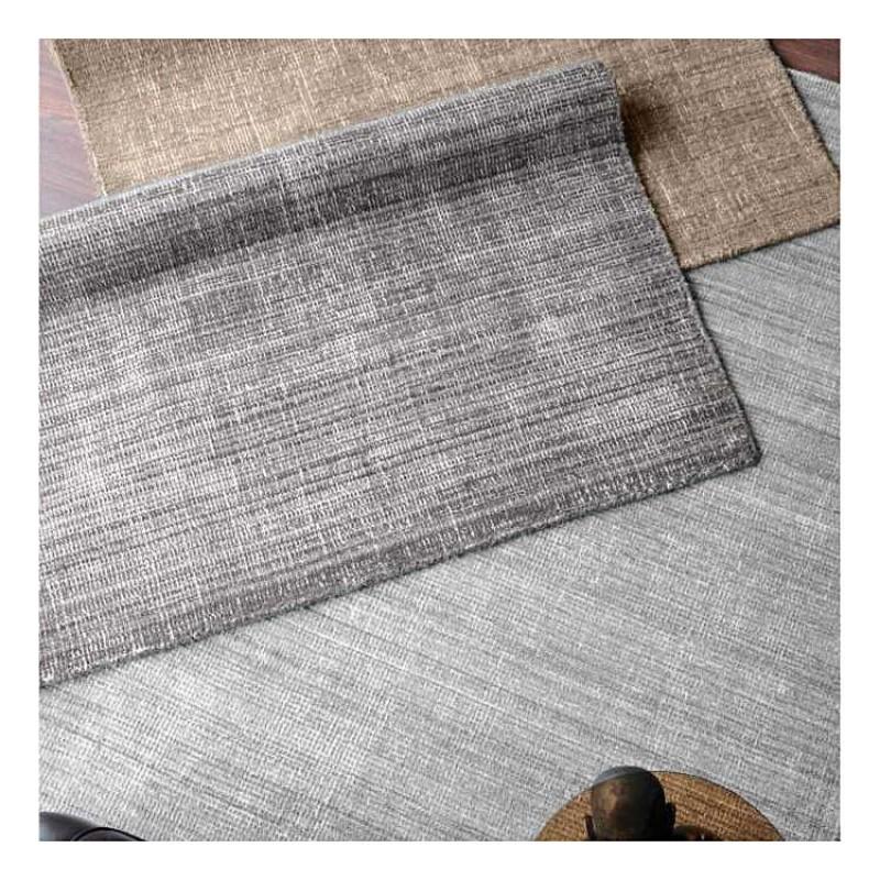 Tapis shaggy gris but canap gris moderne places tapis for Tapis salon xxl
