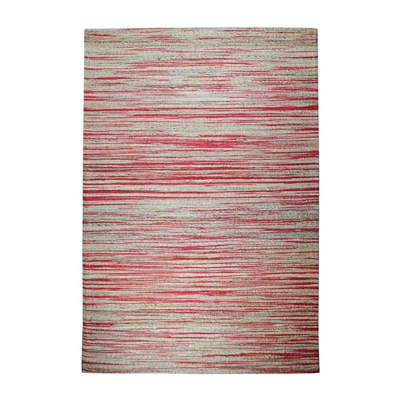 Tapis tiss main shiro beige et rouge the rug republic - Tapis beige et rouge ...