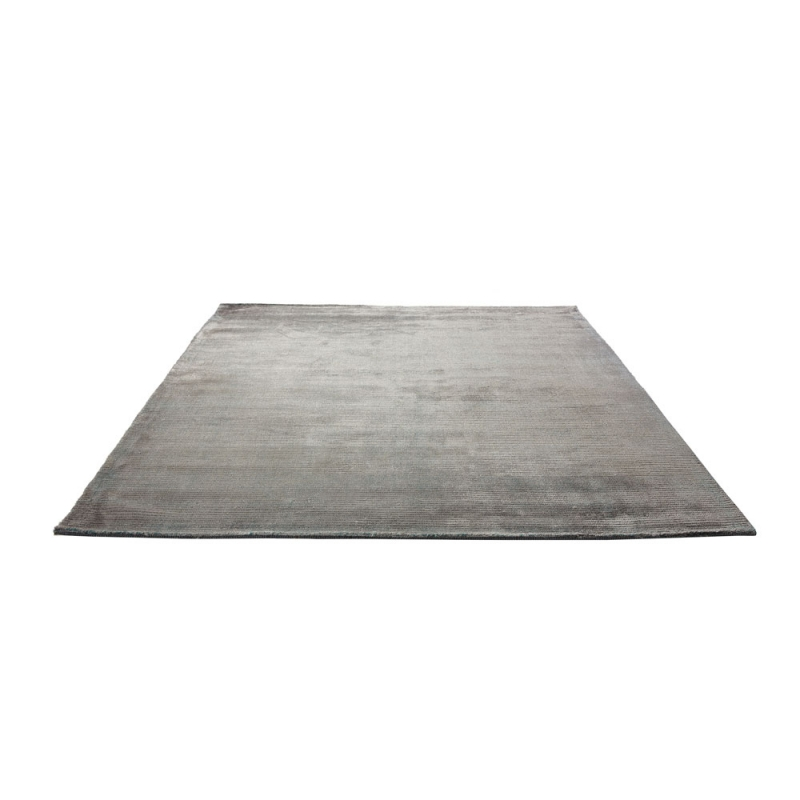 tapis tiss main bleu et gris mirage home spirit 170x230. Black Bedroom Furniture Sets. Home Design Ideas