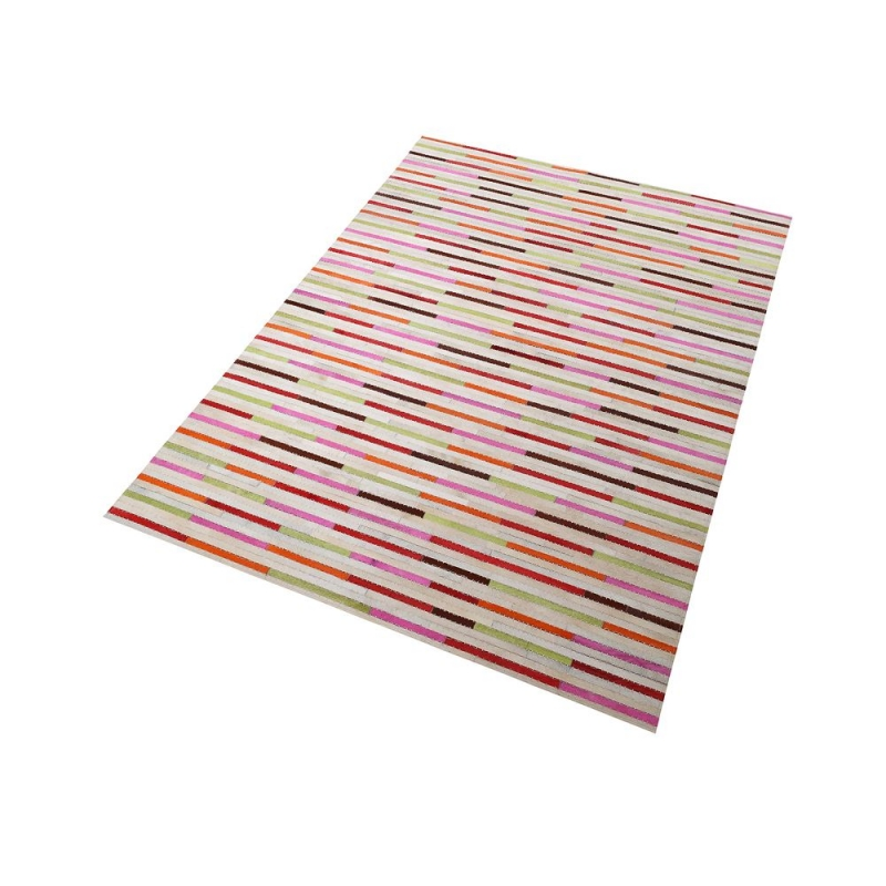 Tapis patchwork kalisto multicolore home spirit 170x230 - Tapis patchwork multicolore ...