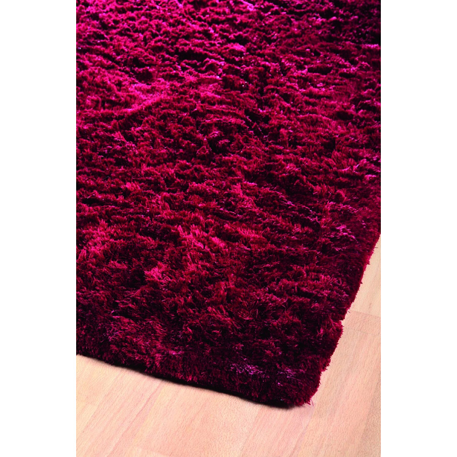 Tapis shaggy bordeaux vision home spirit 170x230 - Tapis shaggy bordeaux ...