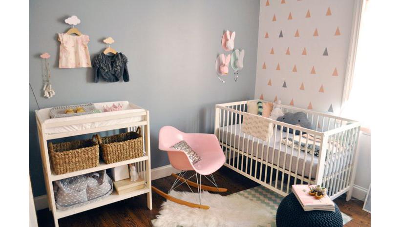 Inspiration d co chambre b b Moquette pour chambre bebe