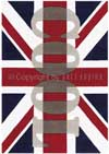 Arte Espina Word Up Drapeau UK